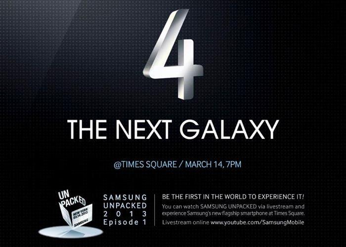 Evento en directo de Samsung