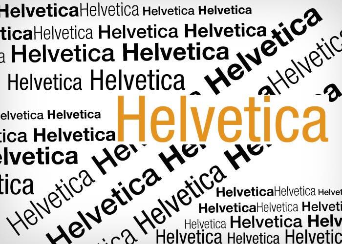 Variantes de la tipografía Helvetica