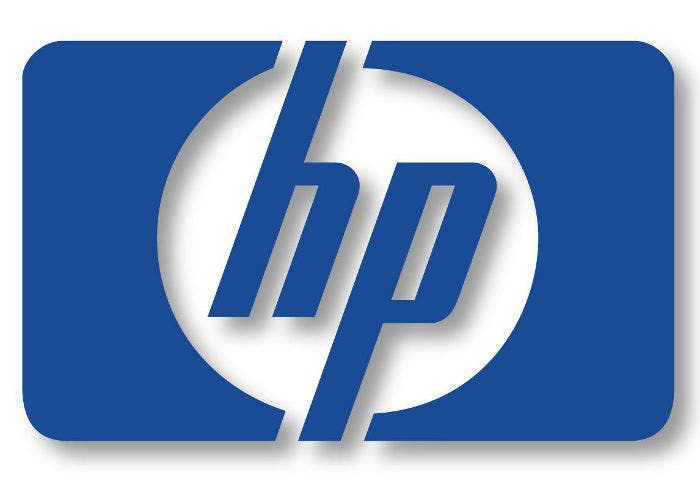 Logo de la empresa tecnológica HP