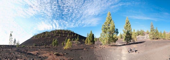 Panorámica de Montaña de Samara en Tenerife