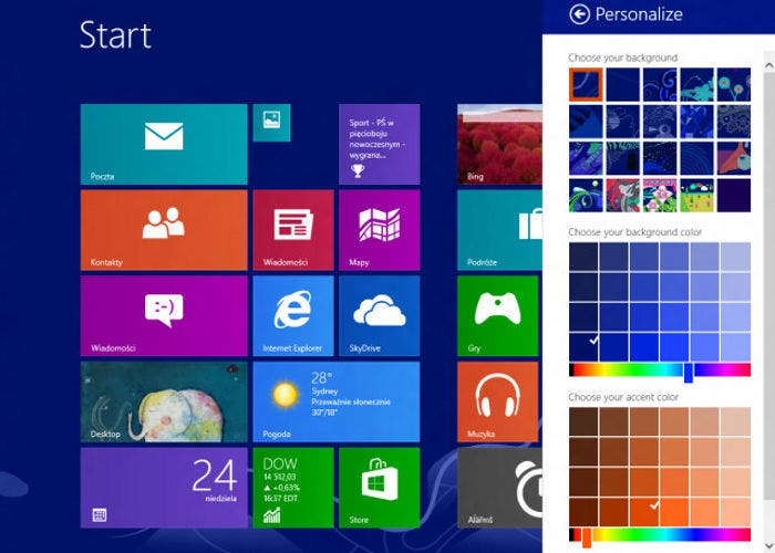 Imagen del hipotético Windows Blue