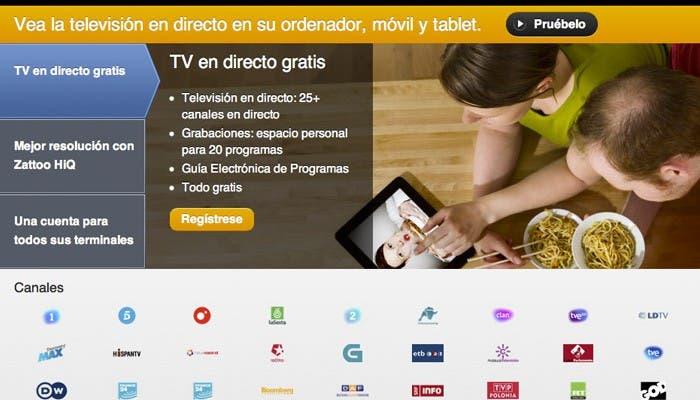 Servicios de televisión por Internet