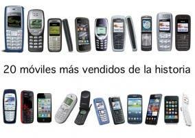 Nokia está muy presente en esta lista