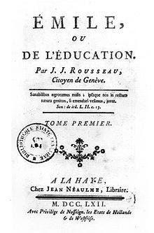 Libro de Rousseau