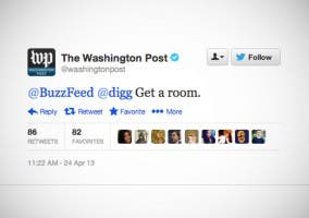Tweet de The Washington Post