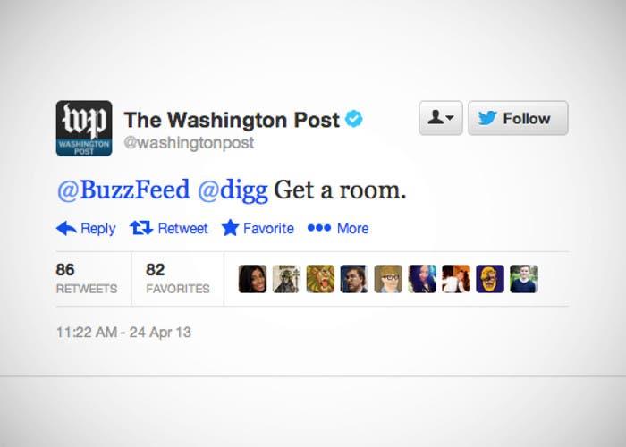 Tweet de The Washington Post