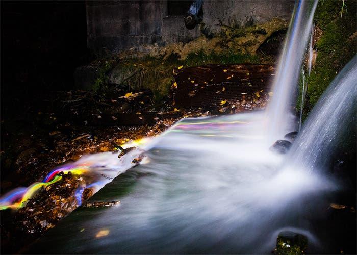 Fotografía perteneciente a la serie Neon Luminance