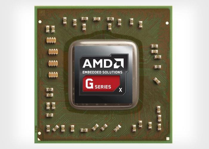 Imagen de un procesador AMD G-Series X