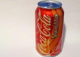 Imagen de un bote de Coca-Cola de vainilla