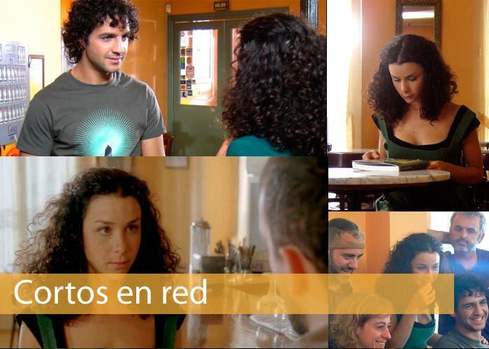 """Carátula de Cortos en red con fotografmas de """"La Aventura de Rosa"""""""