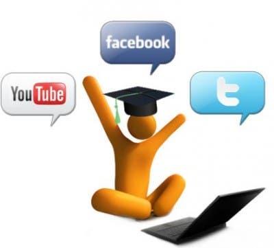 Facebook, Twitter y Youtube