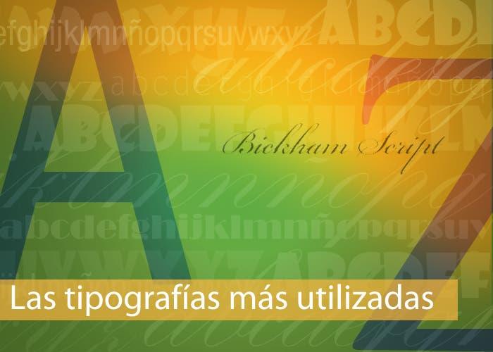 Carátula especial tipografía