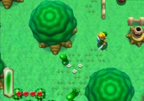 Captura del videojuego The Legend of Zelda: Link to the Past II