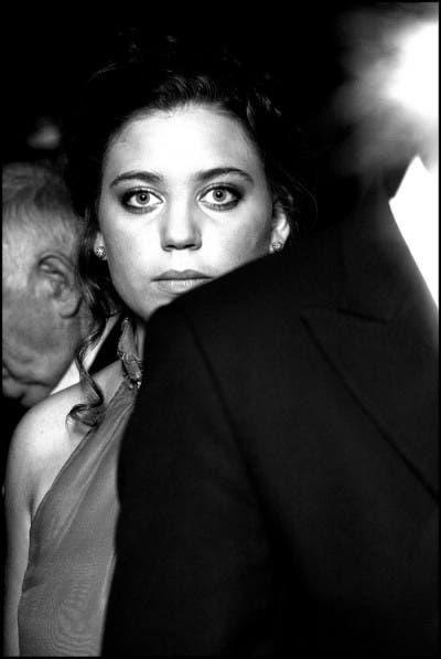 Retrato en blanco y negro realizado por Laura de Mingo