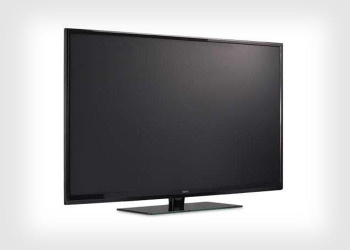 Imagen de un televisor de Seiki a resolución 4K