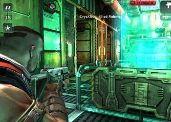 Captura del videojuego Shadowgun DeadZone