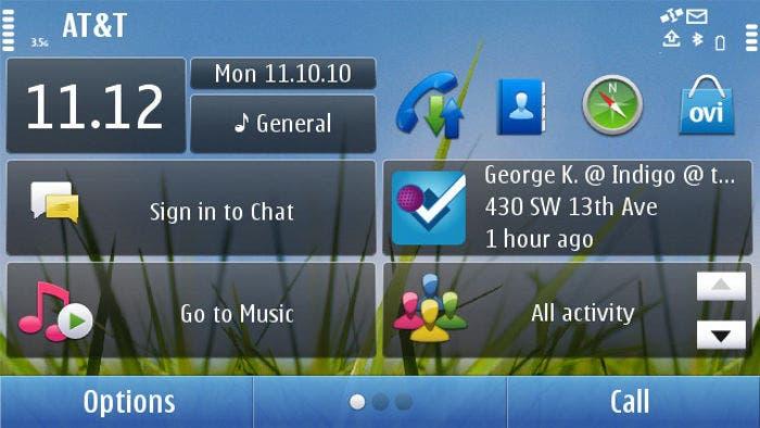 Captura de Symbian