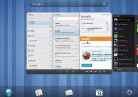 Imagen de WebOS para tablets