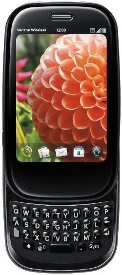 Captura de WebOS en una Palm Pre