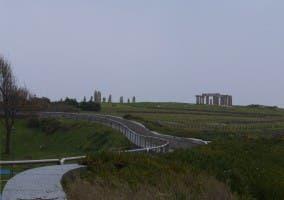 Paseo parque la torre de Hercules