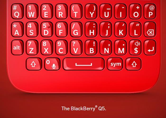 BlackBerry presenta la nueva BlackBerry Q5