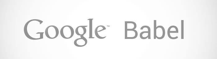 Logo de Google Babel
