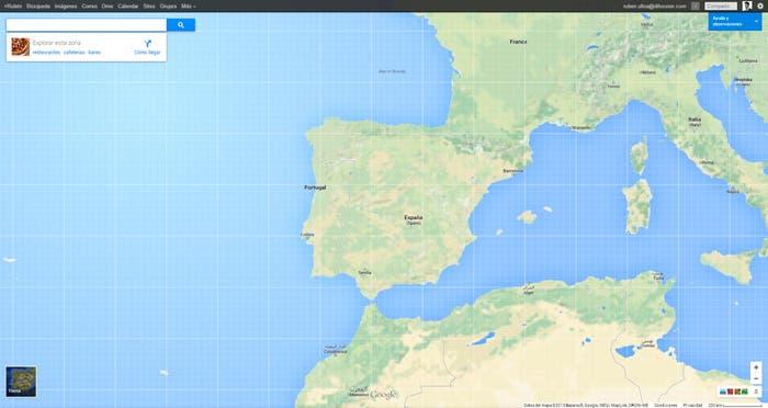 Nueva interfaz de los mapas de Google