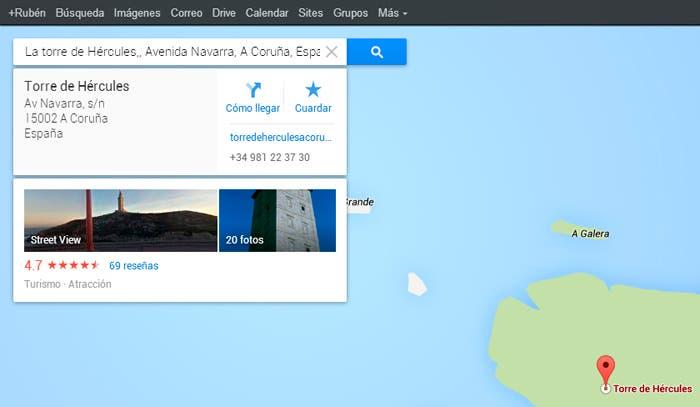 Fichas de descripción del punto geográfico