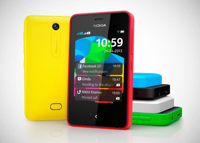Nokia presenta su nuevo Asha 501, el smartphone fácil