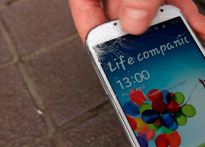 Resultado del test de caída del Samsung Galaxy S 4