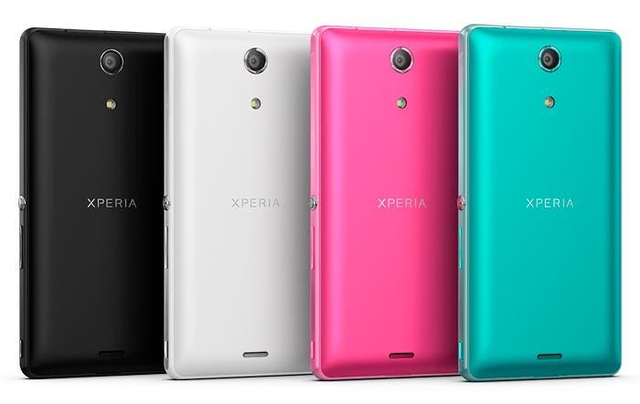 Colores disponibles del Sony Xperia ZR