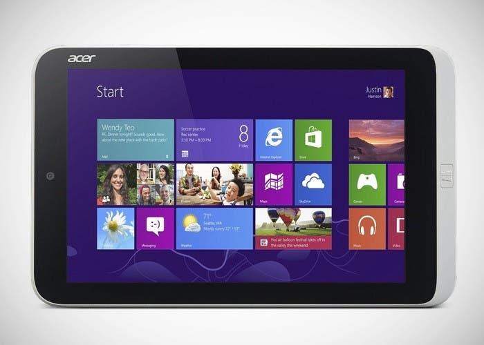 Imagen del Acer Iconia W3