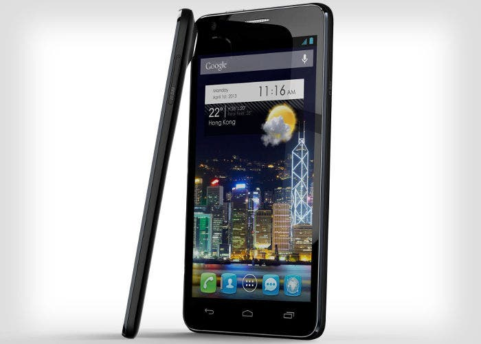 El smartphone Alcatel One Touch Idol Ultra