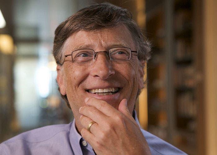 Primer plano de Bill Gates
