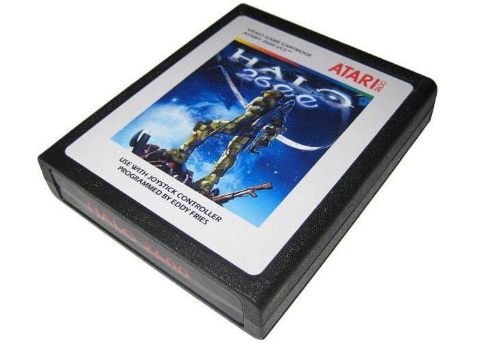 Imagen del cartucho de Halo 2600