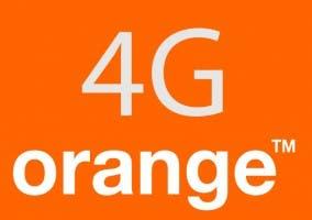Logo de Orange y 4G