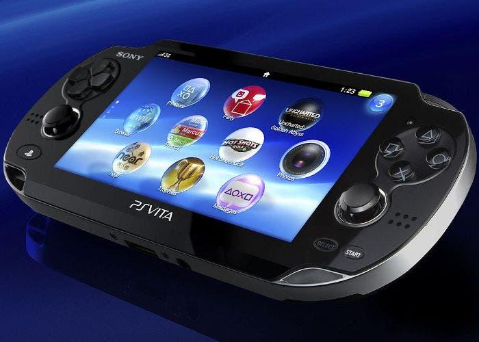 Imagen de la consola portátil PS Vita
