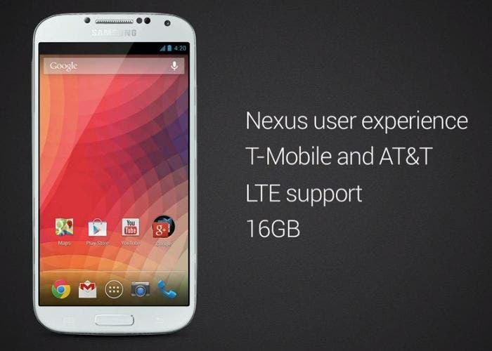 Samsung Galaxy S 4 with Google
