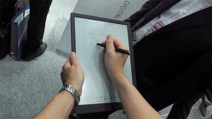 Sony lanzará su papel digital