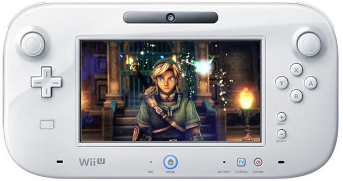 Imagen del mando tablet de Wii U