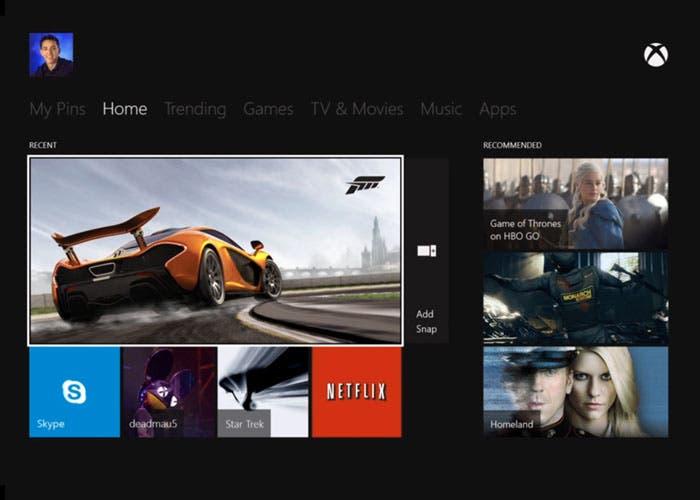 Xbox One comandos voz