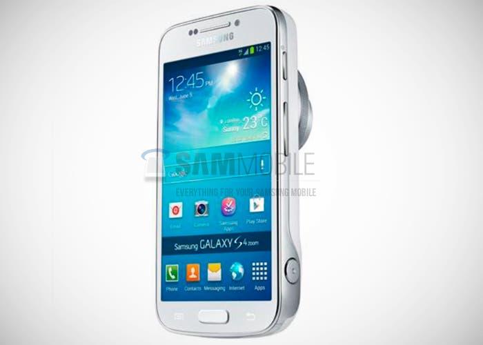 Filtradas imágenes sobre el Samsung Galaxy S4 Zoom