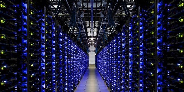 Central en la que se alojan servidores