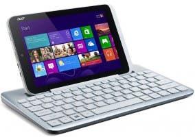 Imagen del Acer Iconia W3 con su teclado