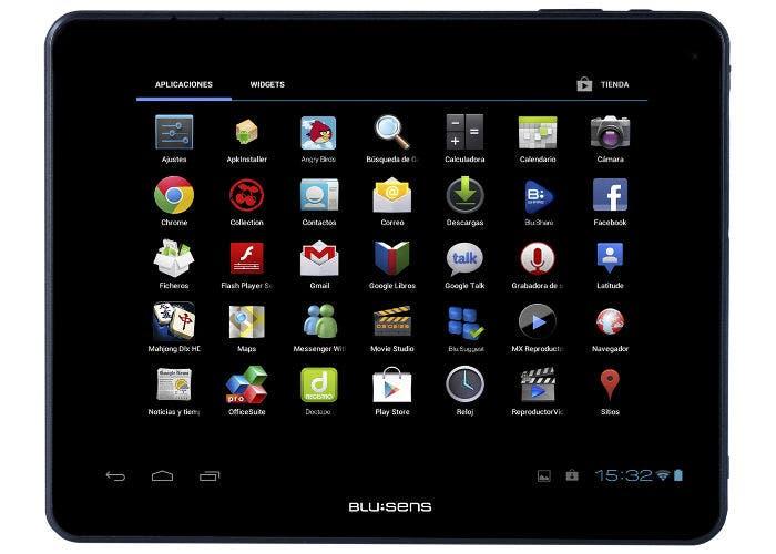 Tablet de Blusense
