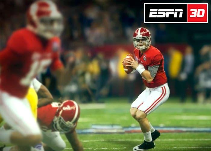 ESPN anuncia que deja el 3D