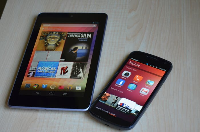 Ubuntu y Android enfrentados
