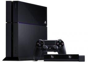 PlayStation 4 con su mando y su cámara