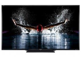 Imagen de detalle del nuevo televisor de sharp