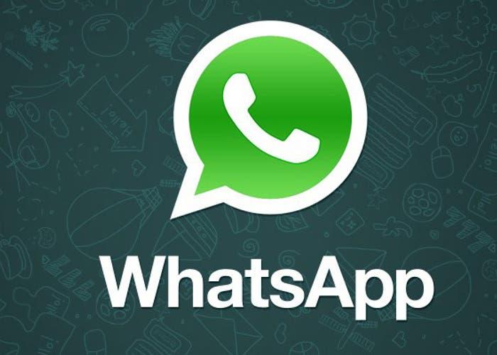 Logo whatsapp con detalle de fondo